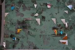 JAPAN07_292.JPG (szen_volta) Tags: abstract green japan tokyo board sticky tape nakameguro