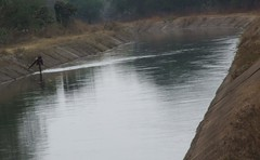 canal (sajla1) Tags: india water canal chhattisgarh
