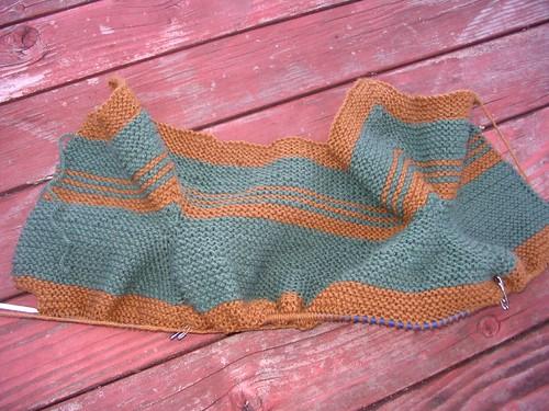 Lumpy knitting?