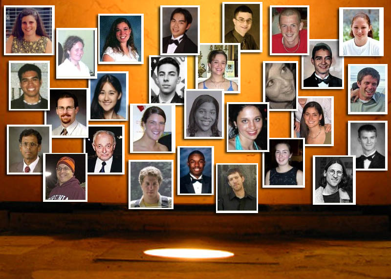 Remembering the Victims of Virginia Tech