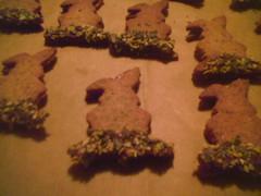 Hasenkekse (rothi01) Tags: keks ostern hasen lecker osterhase s schoko gebck