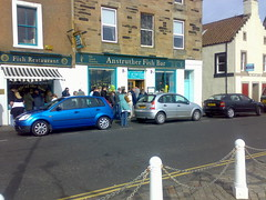 Anstruther Fish Bar exterior