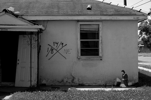 Post Katrina- Home in 9th Ward- New Orleans