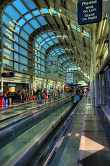 O'Hare - Please Walk on Left, Stand on Right (iceman9294) Tags: travel chicago illinois airport nikon professional ord globalvillage chriscoleman illionois d80 globalcity invitedphotosonly gvadminshalloffame itsabeautifulgv iceman9294