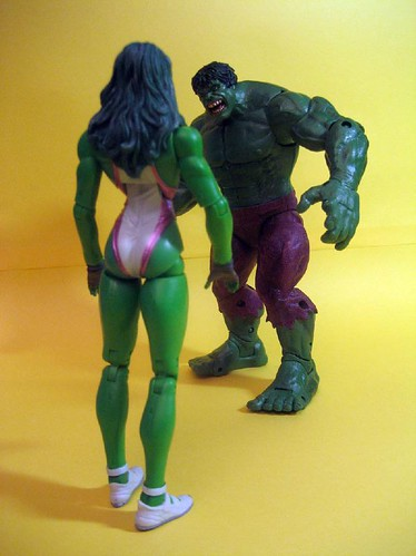 She-Hulk and Hulk