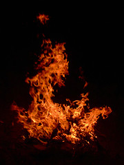 I Love Fire (Somayeh T) Tags: red orange night fire iran somayeh somayeht