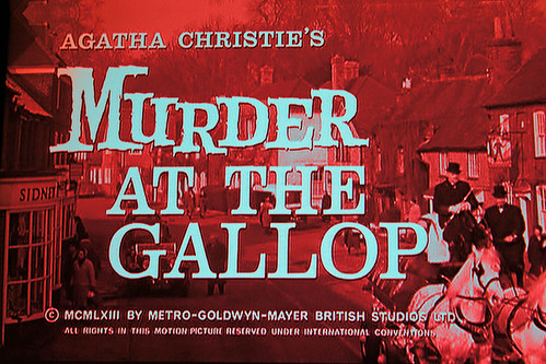 Murder at the Gallop TV  Shot