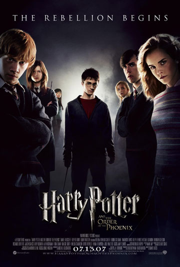 Poster Oficial Harry Potter orden fenix