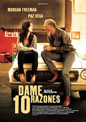 Póster y trailer en castellano de 'Dame 10 razones'