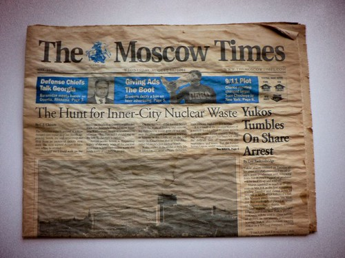 The Moscow Times  -  august 11, 2004