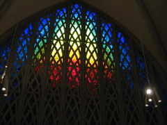 Stained Glass Windows (thomatically) Tags: ny color window glass rainbow university chapel stained rochester ur