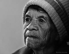 baket mensip-ok (jobarracuda) Tags: bw face lumix grandmother lola oldlady oldwoman pinay filipina bonnet baket igorot fz50 peopleschoice panasoniclumix flickrsbest dmcfz50 jobarracuda superhearts