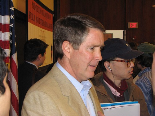 Bill Frist at Princeton April, 2007 - TigerHawk original photograph