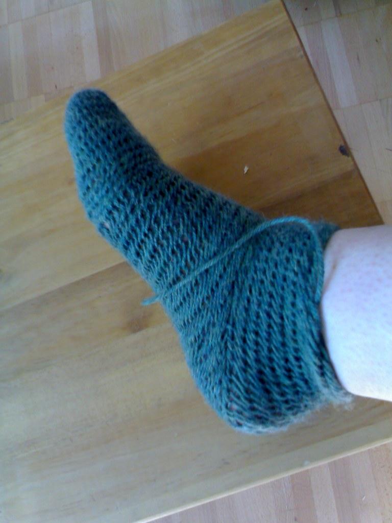 nålbinding sock2