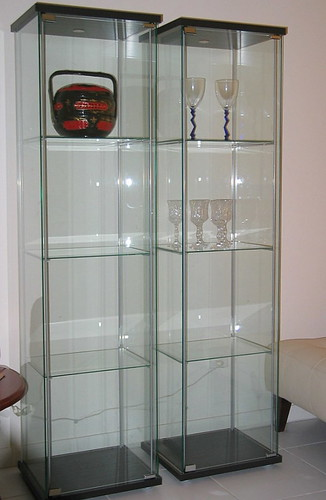 here 39 s my ikea detolf glass cabinet my women stuff. Black Bedroom Furniture Sets. Home Design Ideas