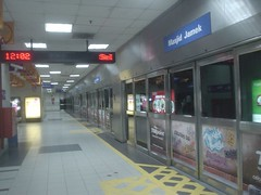 07.Kelana Jaya Line的Masjid Jamek站