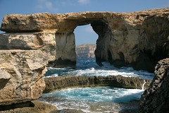Azure Window and Blue Chimney