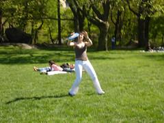 (12by0) Tags: sun centralpark frisbee sheepmeadow dsc03423