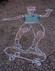 Melvind Shirt Chalk Drawing (sammo371) Tags: art shirt chalk melvind