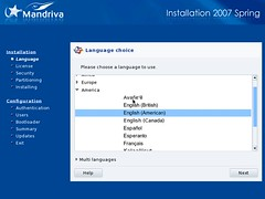 Mandriva Installation Screenshot 2