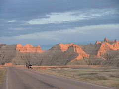 Badlands National Park (ribizlifozelek) Tags: road sunset usa southdakota sd badlandsnationalpark anawesomeshot aplusphoto top20travel frhwofavs