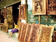 バリ島・木彫り