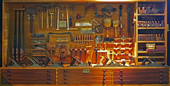 WW99: Tool Locker of a Carpenter (Craig Jewell Photography) Tags: iso400 f40 05sec pentaxk10d smcpentaxda1855mmf3556al cpjsm craigjewellphotography