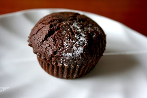 Chocolate Okara Cupcake