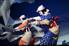 B L U E: Miyako Odori (mboogiedown) Tags: travel blue beauty asian dance spring movement women kyoto asia traditional silk indigo culture geiko geisha kimono gion tradition miyako kansai aizome odori inoue kyomai springdances discoverkyoto crepefabricofechigo dancesoftheoldcapital inoueryu