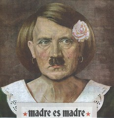 Mother is mother! (Luz Adriana Villa A.) Tags: portrait mall advertising de fun la san colombia day publicidad little joke hitler centro mother diego el mama dia powershot scan mothers montaje madre comercial colombiano escaneado retraro luzadrianavilla luzavilla
