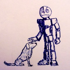 Space Robot and Mutt