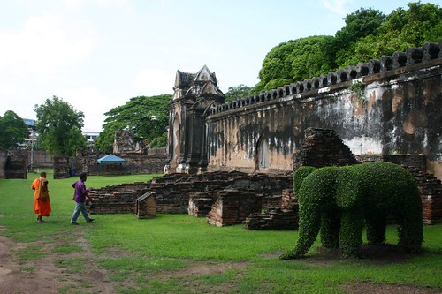 The Royal Palace, Lop Buri, Central Thailand...