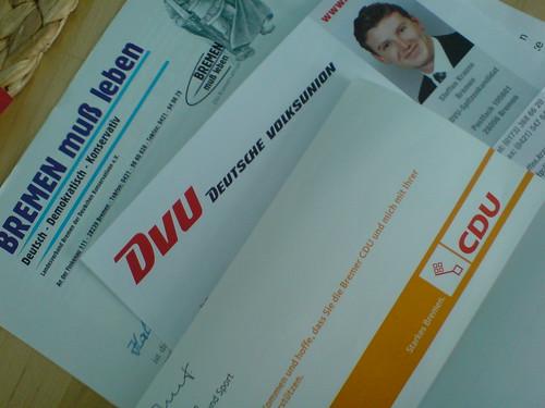 Elections in Bremen, Germany