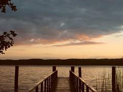 Abend am Werbellinsee 1 (bernstrid) Tags: germany geotagged deutschland see wasser sonnenuntergang explore brandenburg werbellinsee geo:lat=52932099 geo:lon=13725035