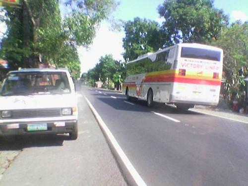Victory Liner Bus at Cabangan HiWay Zambales