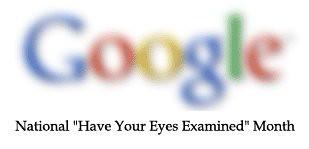 Augen Untersuchungstag