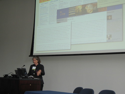 Barbara Ganley at Faculty Academy 2007