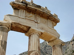 Tholos Ruins at Delphi - 9 (Josh Clark) Tags: ancient ruins delphi greece athena tholos