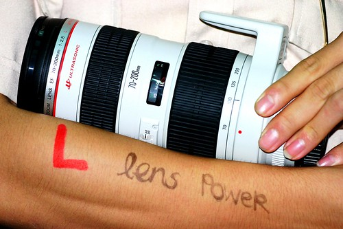 L Lens Power
