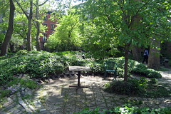 NYC - East Village: St Marks West Yard - Garden of Healing by wallyg, on Flickr