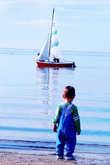 When I Grow up I want to Be a Sailor (Fir..) Tags: blue boy beach water bay boat kid toddler waterfront snapshot australia victoria littleman sailor geelong littleguy bluesea supershot whenigrowup impressedbeauty iwanttobeasailor