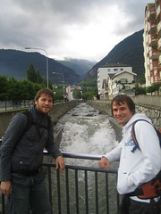 Swiss rivers in Brig