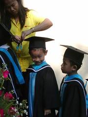 Slum preschool graduation (Grin and Barrett) Tags: school education economy wealth slums developingworld globalpoverty economicdivide