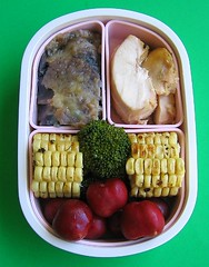 Corn lunch for preschooler