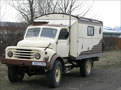 Hanomag Truck camper (Observe The Banana) Tags: old truck iceland german vehicle camper hanomag