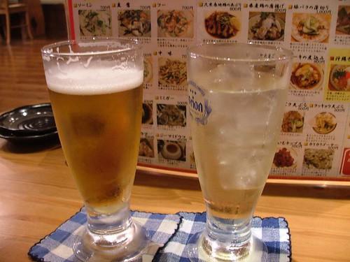 5.18晚餐-啤酒+鳳梨酒(free)