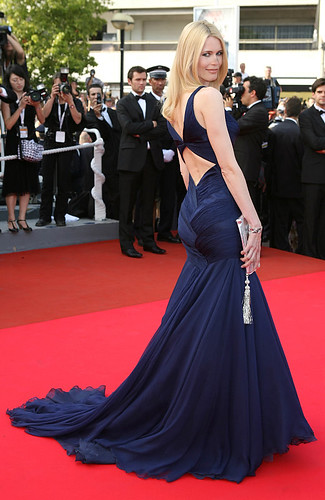 Claudia Schiffer in Cannes