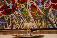The_Cup_of_Life_2007.JPG (johnwalford) Tags: illinois altar chalice paten warrenville pentecost altarpiece immanuelpresbyterianchurch