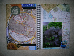 travel journal (nerd alert) Tags: travel journal craft swap fp