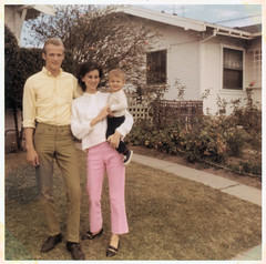 dad, mom and me - 1969